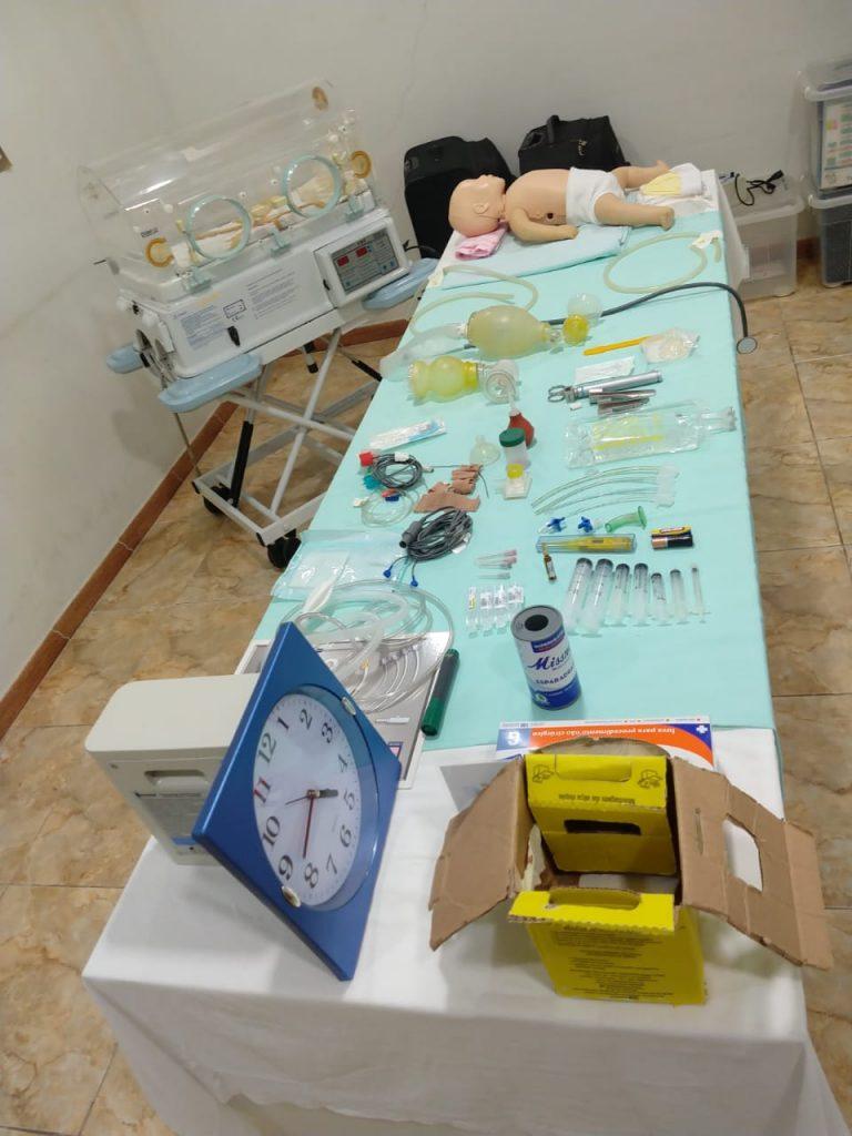 Curso de reanimação neonatal garante melhoria do atendimento na sala de parto